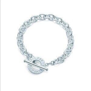 Tiffany Toggle Bracelet.- Never Worn